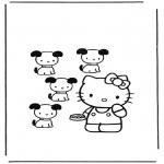 Personagens de banda desenhada - Hello Kitty 12