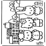 Personagens de banda desenhada - Hello Kitty 20