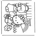 Personagens de banda desenhada - Hello Kitty 5