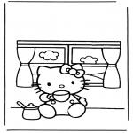 Personagens de banda desenhada - Hello kitty 6
