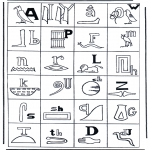 Todos os tipos de - Hieroglifo
