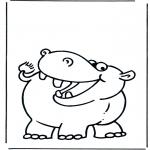 Animais - hipopótamo 2