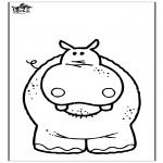 Animais - Hipopótamo 3