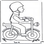 Todos os tipos de - Homem de moto