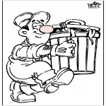 Todos os tipos de - Homem do lixo