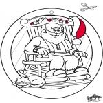 Natal - Inagem de Janela de Natal 4