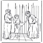 Pinturas bibel - Jesus com 12 anos