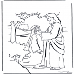 Pinturas bibel - Jesus cura
