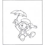 Personagens de banda desenhada - Jiminy Cricket