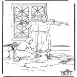 Pinturas bibel - José no Egipto
