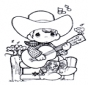 Jovem músico