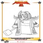 Personagens de banda desenhada - Kung Fu Panda 2 Desenho 3