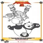 Personagens de banda desenhada - Kung Fu Panda 2 Desenho 4