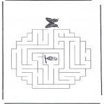 Ofícios - Labirinto borboleta