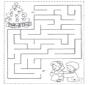 Labirinto de crianças