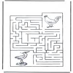 Ofícios - Labirinto de pássaros