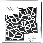 Ofícios - Labirinto do verme