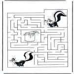 Ofícios - Labirinto raccoon