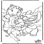 Personagens de banda desenhada - Lilo e Stitch 4
