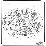Pinturas Mandala - Mandala 26