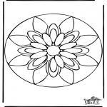 Pinturas Mandala - Mandala 38
