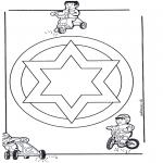 Pinturas Mandala - Mandala de recortar  13