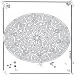 Pinturas Mandala - Mandala de recortar  18