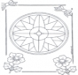 Mandala de recortar  7