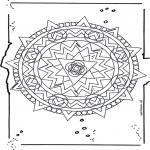 Pinturas Mandala - Mandala de recortar