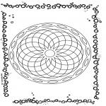Pinturas Mandala - Mandala geométrico 5