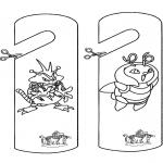 Ofícios - Marca de porta Pokemon
