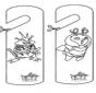 Marca de porta Pokemon