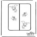 Personagens de banda desenhada - Marca Dumbo