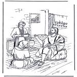 Pinturas bibel - Marta e Maria 1
