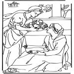 Pinturas bibel - Marta e Maria 2