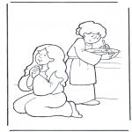 Pinturas bibel - Marta e Maria