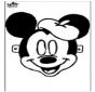 Máscara de Mickey