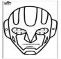 Máscara de papel 15