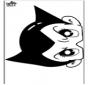 Máscara de papel 16