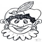 Cartões de picotar - Máscara de picotar 10