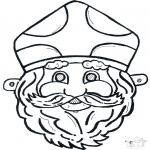 Cartões de picotar - Máscara de picotar 11