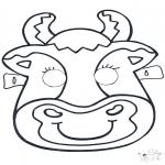 Cartões de picotar - Máscara de picotar 6
