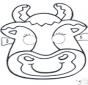 Máscara de Vaca 2