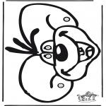 Personagens de banda desenhada - Máscara Diddl