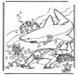Megulhador e Tubarão