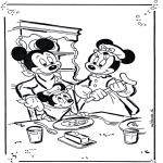 Personagens de banda desenhada - Mickey e Minnie