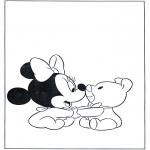 Personagens de banda desenhada - Minnie Bebé