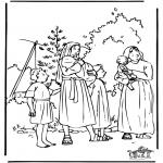 Pinturas bibel - Moisés 1