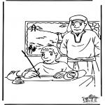 Pinturas bibel - Moisés 3