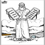 Pinturas bibel - Moisés 4